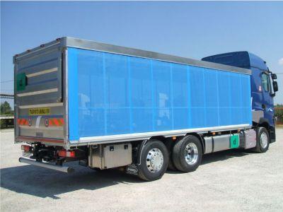 offerta realizzazione allestimenti camion promozione servizi pedane caricatrici camion verona