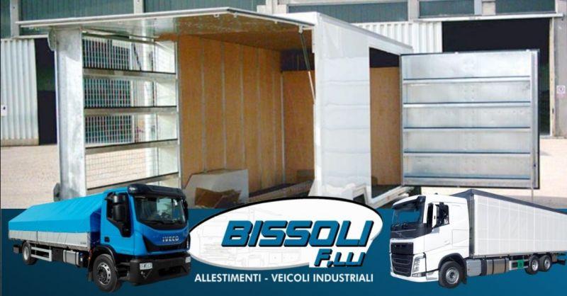 Offerta allestimenti cassoni trasporto animali avicoli - Occasione officina per allestimento veicoli industriali Verona