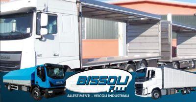 promozione furgonature in lega leggera verona occasione installazione casse mobili camion verona