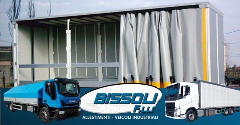 Occasione allestimento impianti scarrabili autoveicoli - Offerta realizzazione centinature fisse registrabili Verona