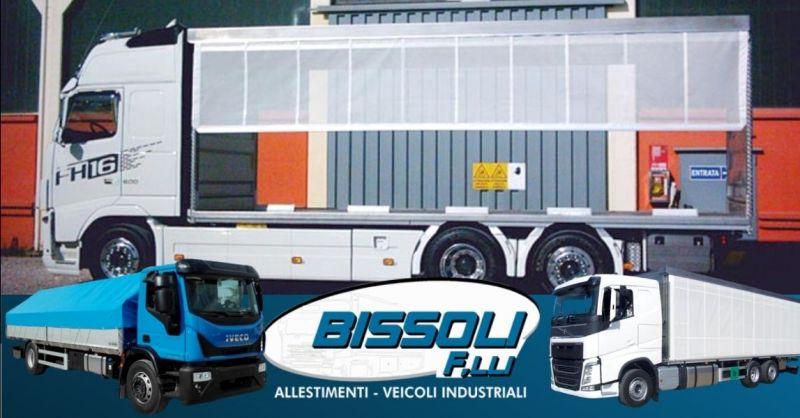 BISSOLI - Offerta installazione teli laterali veicoli per trasporto animali vivi avicoli provincia Verona