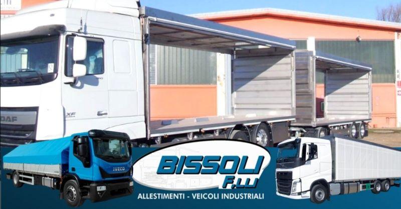 Offerta installazione chiusura automatica cassoni - Occasione realizzazione impianti scarrabili camion provincia Verona