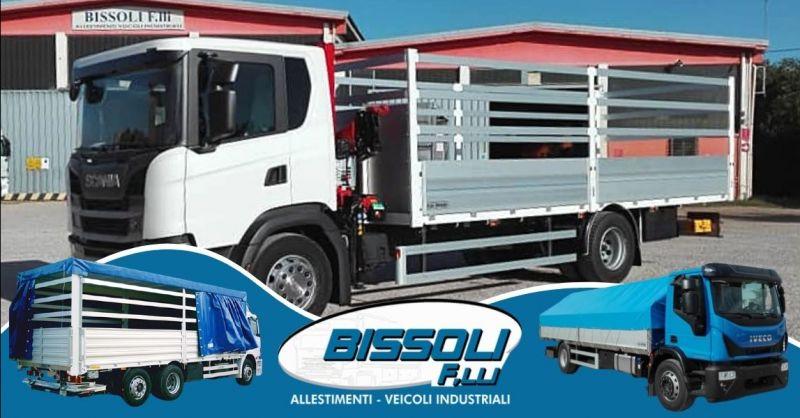 Offerta realizzazione centine per camion Verona - Occasione allestimento cassoni camion Verona