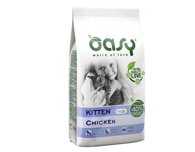 Offerta - Crocchette per gatti Oasy Kitten