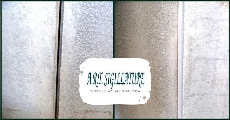 ART SIGILLATURE - offerta servizio sigillature interne ed esterne su prefabbricati Verona