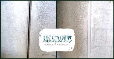 art sigillature offerta servizio sigillature interne ed esterne su prefabbricati verona