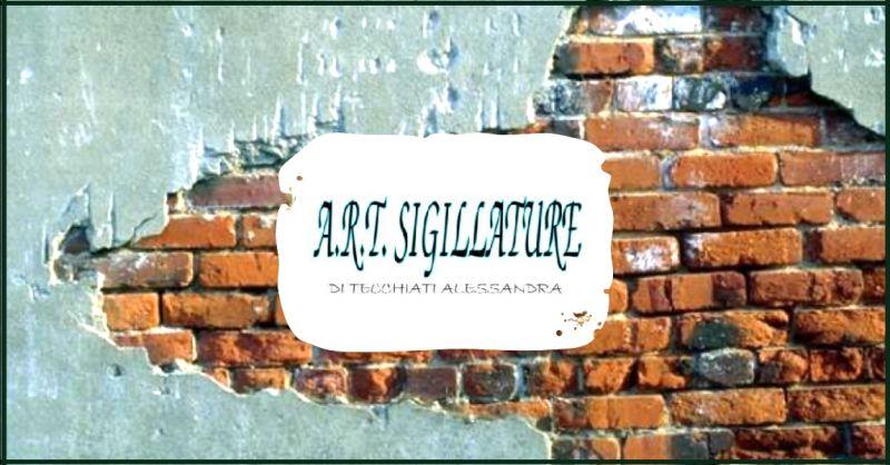 ART SIGILLATURE - offerta servizio riparazioni murarie di edifici Verona