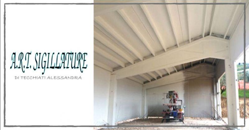 ART SIGILLATURE - Promozione servizio di tinteggiatura per interni esterni prefabbricati Verona