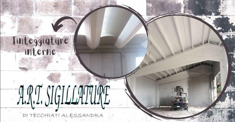 ART SIGILLATURE - Offerta servizio di tinteggiatura prefabbricati interni provincia Verona