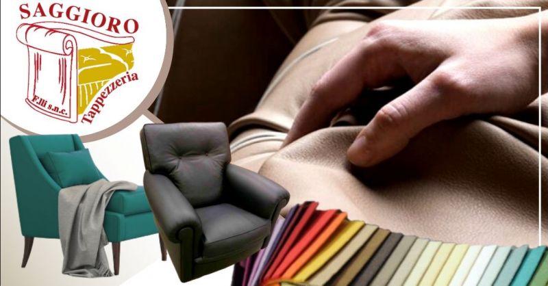 Occasione servizio di rivestimento poltrone Verona - Offerta produzione poltrone personalizzate