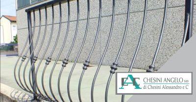 offerta produzione parapetti in alluminio sona occasione realizzazione recinzioni in acciaio