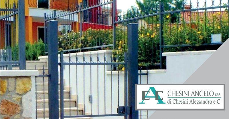 offerta produzione recinzioni in ferro - occasione progettazione recinzioni su misura Brescia