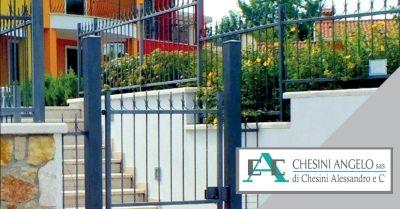 offerta produzione recinzioni in ferro occasione progettazione recinzioni su misura brescia