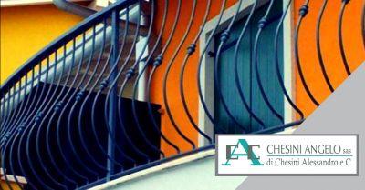 offerta servizio realizzazione parapetti fissi occasione produzione recinzioni autoportanti