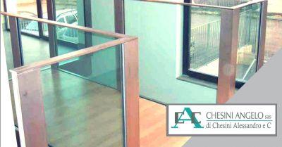 offerta progettazione soppalchi vetro acciaio occasione realizzazione terrazze design brescia