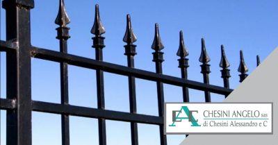 offerta installazione cancelli pedonali occasione cancelli artigianali in acciaio brescia
