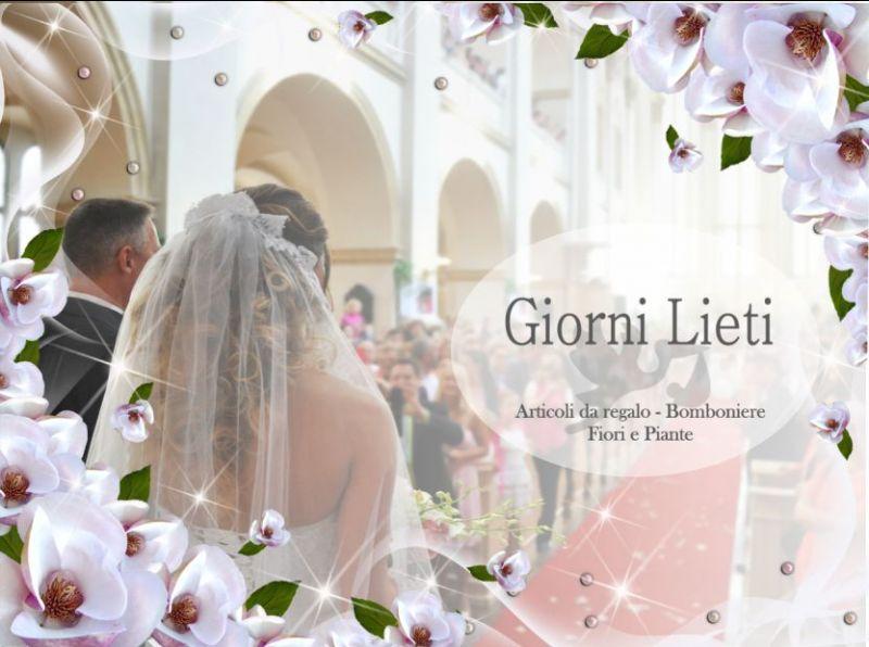 offerta allestimenti per matrimoni - promozione addobbi - Giorni Lieti