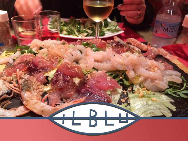 offerta mangiare pesce crudo - promozione ristorante pesce crudo siracusa - ristorante il blu
