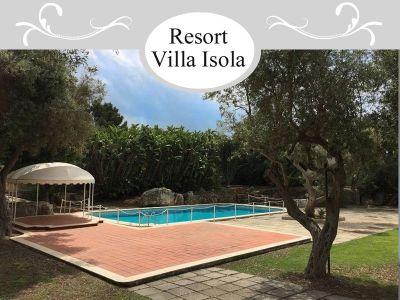offerta villa con piscina plemmirio promozione villa vacanze plemmirio villa isola resort