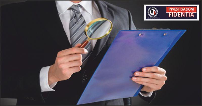 istituto fidentia offerta investigatore privato - occasione indagini private perugia