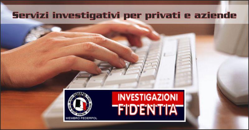 istituto fidentia servizi investigativi aziende - investigazioni per privati perugia