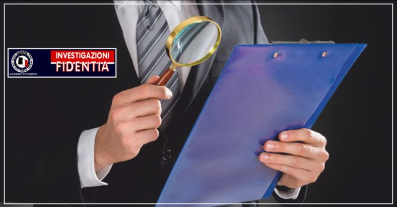 istituto fidentia offerta infedeltà coniugale - occasione investigazioni private perugia
