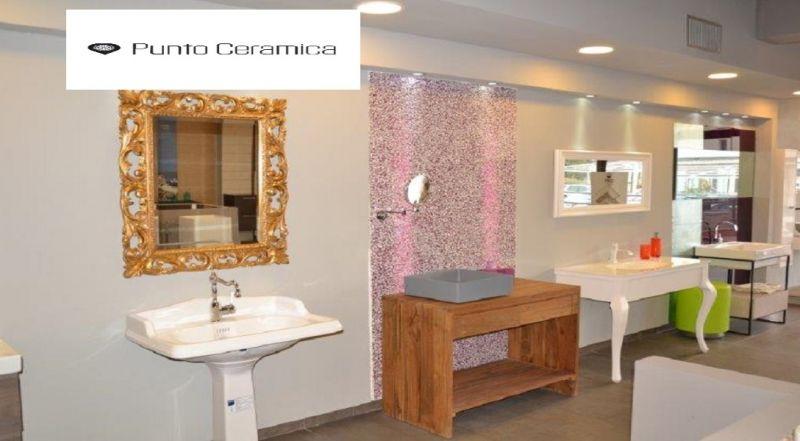 Punto Ceramica offerta arredo bagno moderno - occasione manodopera Ragusa