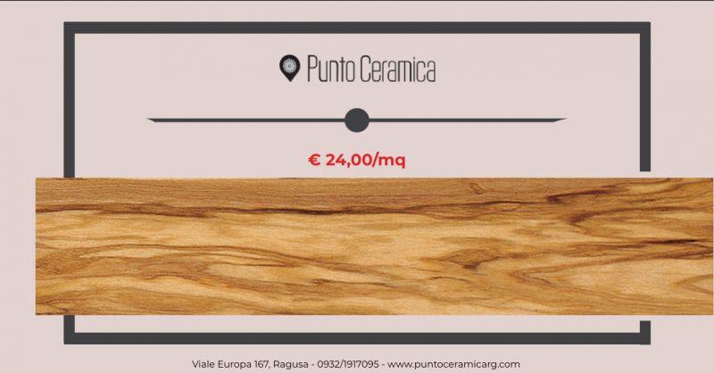 PUNTO CERAMICA - occasione vendita parquet ulivo massello ragusa