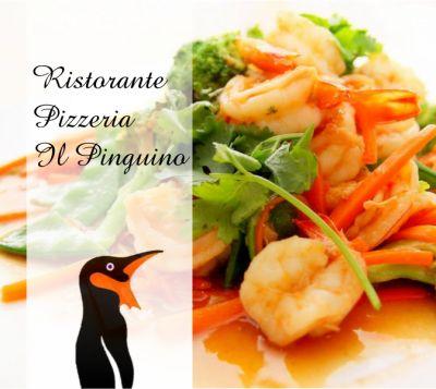 offerta specialita pesce porlezza promozione piatti pesce com il pinguino ristorante