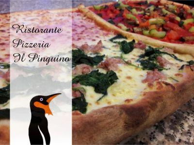offerta pizza al metro porlezza promozione pizzeria como il pinguino ristorante