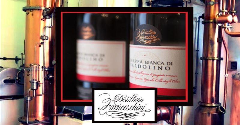 offerta produzione grappa bianca di Bardolino - occasione migliore grappa bianca secca