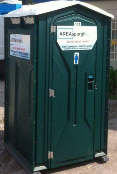 offerta noleggio bagni chimici toilette chimiche promozione consegna immediata box verona