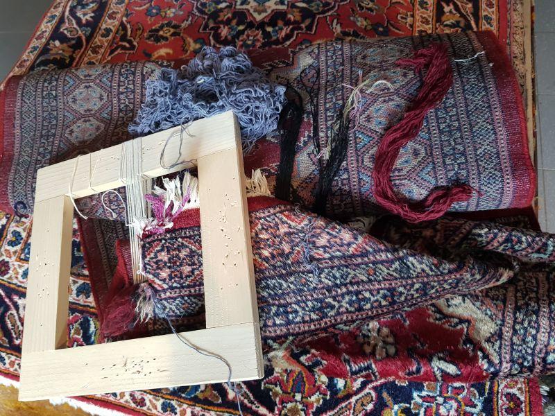 TAPPETO PULITO offerta bordatura tappeti persiani Assisi