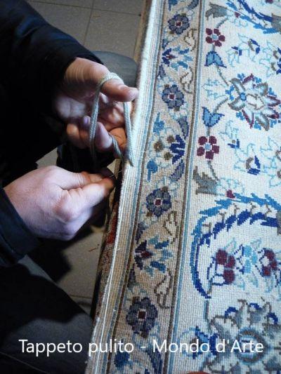 tappeto pulito offerta restauro tappeti torgiano
