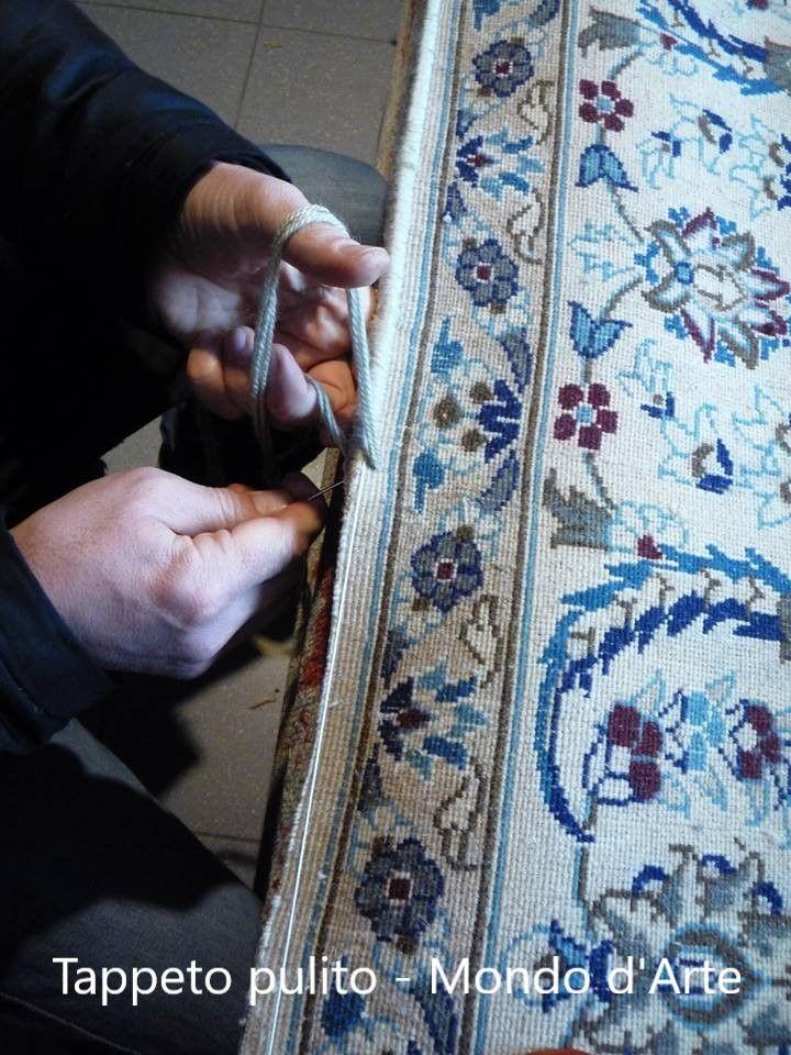TAPPETO PULITO offerta restauro tappeti Passignano sul Trasimeno