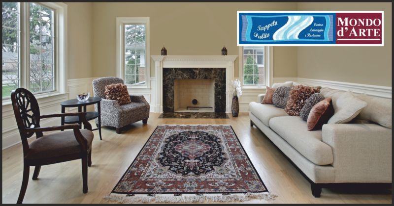 mondo d'arte offerta lavaggio tappeti persiani - occasione restauro tappeti persiani perugia
