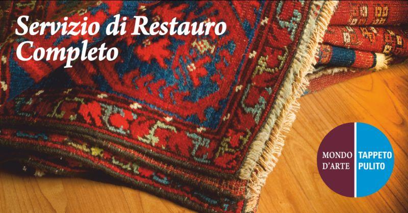offerta servizio restauro tappeti completo - occasione restauro bordi tappeto perugia