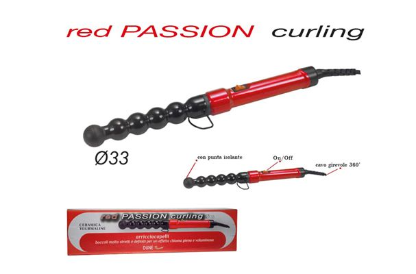 Red passion curling boccoli