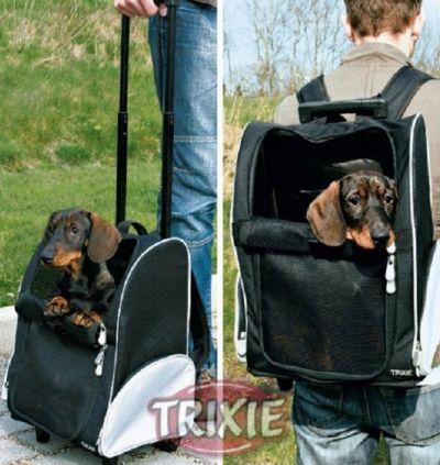 promozione offerta trasportino trolley e zaino per cane e gatto