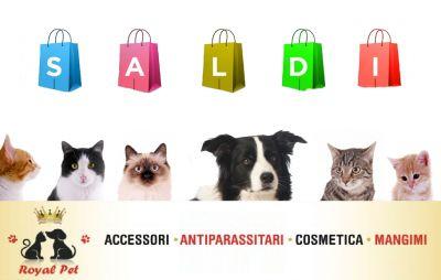 offerta saldi accessori per cani gatti occazione sconti prodotti animali domestici royal pet