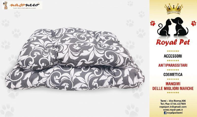Offerta cuscini di qualità per cucce cani Terni - Occasione vendita cucce cuscini Nasonero Terni