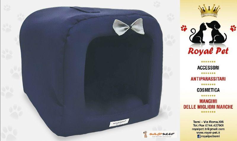 Offerta Cuccia Tunnel Blu Nasonero Terni - Occasione vendita cucce di qualità per cani Terni