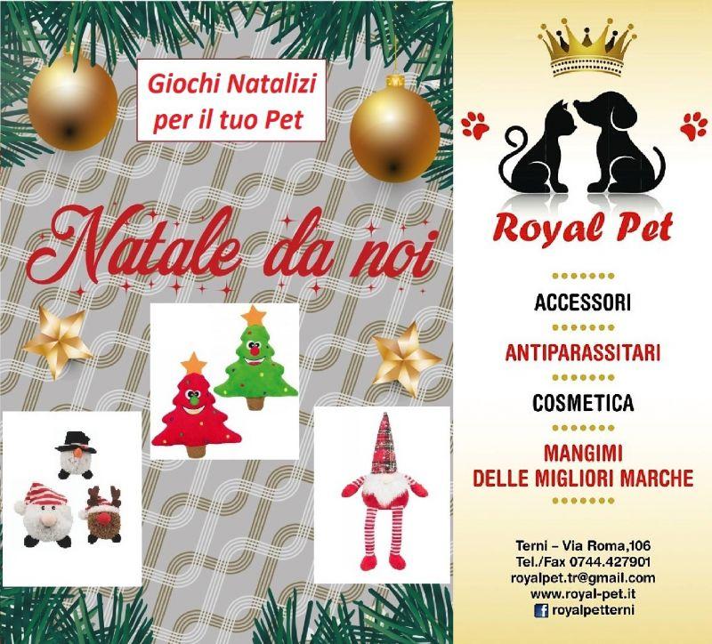 Offerta giochi natalizi cane gatto Terni - Occasione idee regalo natalizie per animali Terni