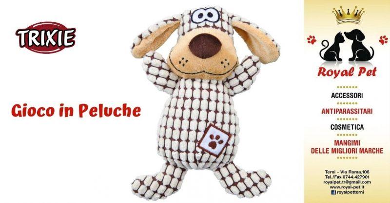 Offerta acquisto peluche Trixie per animali Terni - Promozione vendita peluche per cani Terni