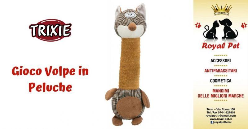 Offerta Volpe di peluche per cani Terni - Occasione vendita giochi per animali Trixie Terni