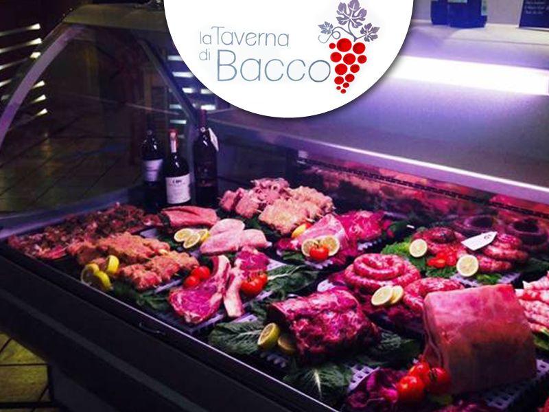 offerta mangiare carne promozione ristorante carne locale la taverna di bacco