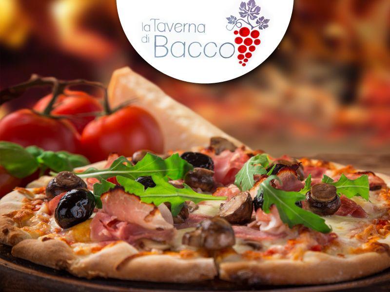 offerta ristorante pizza palazzolo promozione pizzeria palazzolo la taverna di bacco