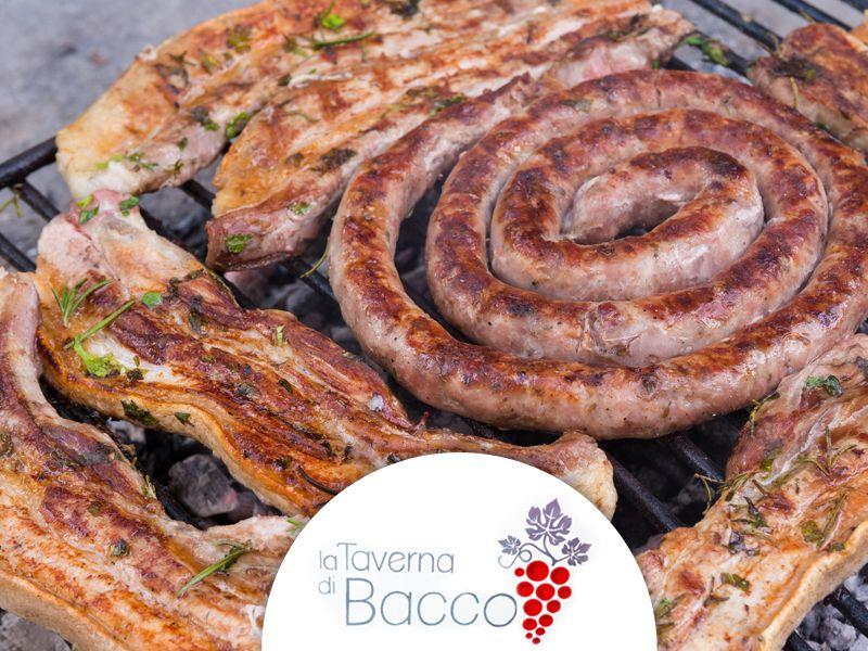 offerta ristorante braceria palazzolo promozione carne alla brace locale la taverna di bacco