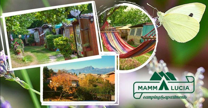 Offerta campeggio con area giochi bambini - Occasione camping vacanze con rimessa caravan San Zeno di Montagna