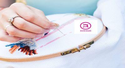 hand made offerta macchina da cucire professionale occasione corsi di cucito creativo ragusa